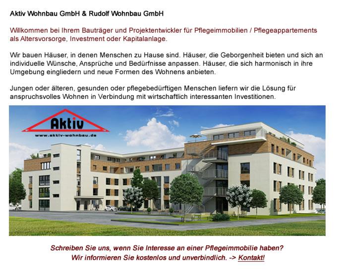 Pflegeimmobilie  Leutkirch im Allgäu bauen mit Aktiv Wohnbau